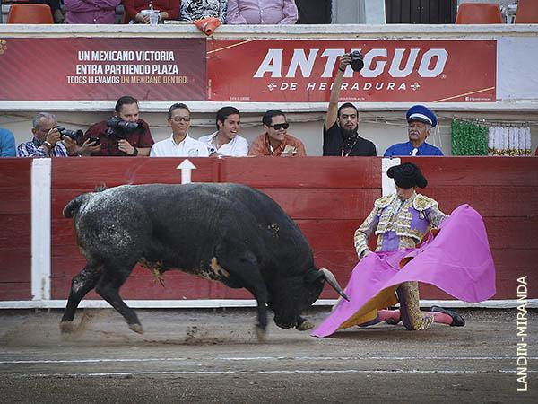 Gran tarde de toros en Aguascalientes
