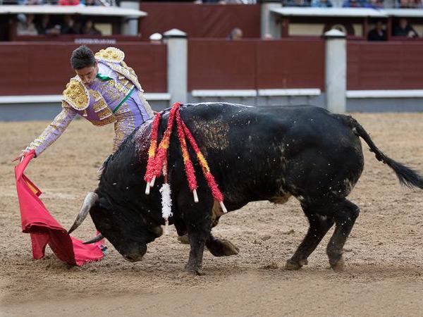 Juan Baustita corta oreja en Madrid