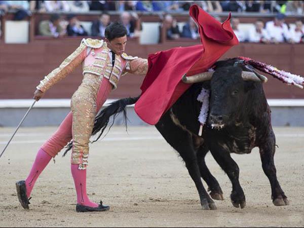 Cornada y oreja para Adame en Madrid