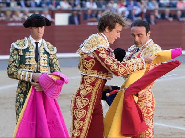 Importante tarde de Ponce en Madrid