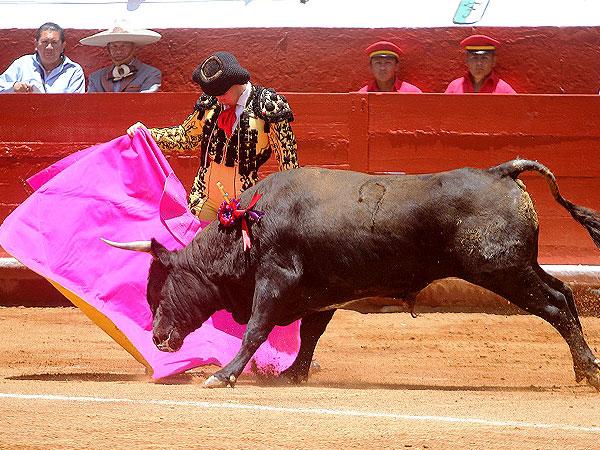 Javier Castro corta la �nica oreja en Pachuca