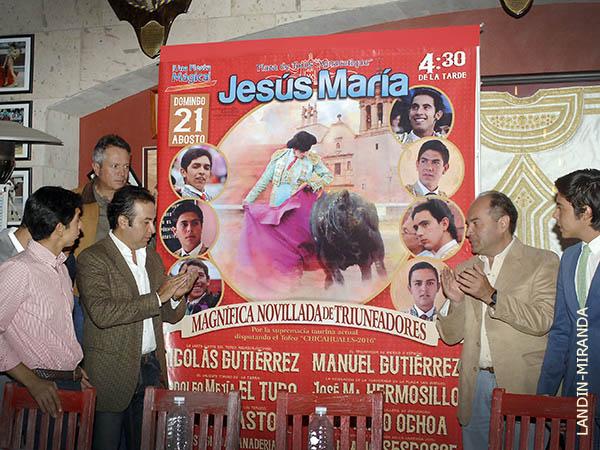 Celebrar�n novillada en Jes�s Mar�a
