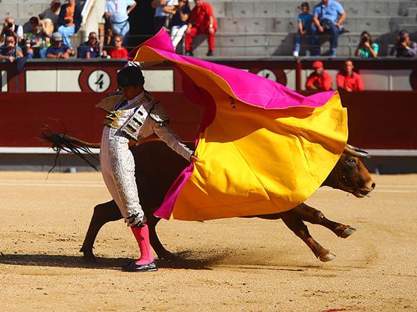 �Alejandro Adame corta oreja en Madrid!